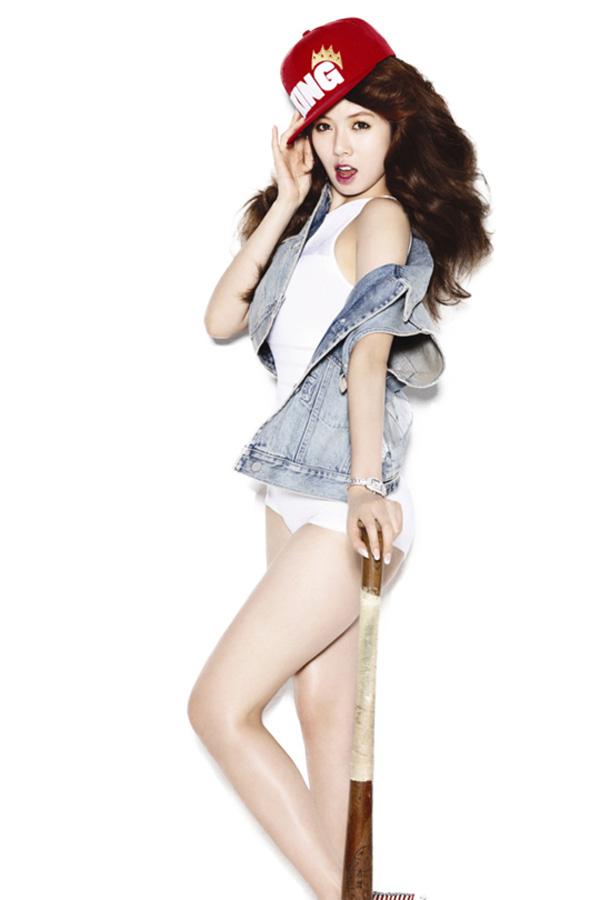 Top mỹ nhân sở hữu vòng 3 đẹp nhất Hàn Quốc - Hyuna