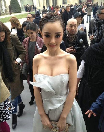 Mỹ nhân có vòng 1 đẹp nhất Trung Quốc - Lý Tiểu Lộ