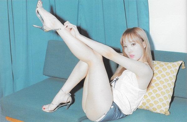 Top mỹ nhân sở hữu vòng 3 đẹp nhất Hàn Quốc - Minhee
