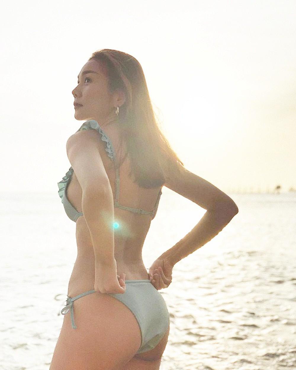 My nhan tuoi hoi co than hinh nong bong - Siêu mẫu Thanh Hằng