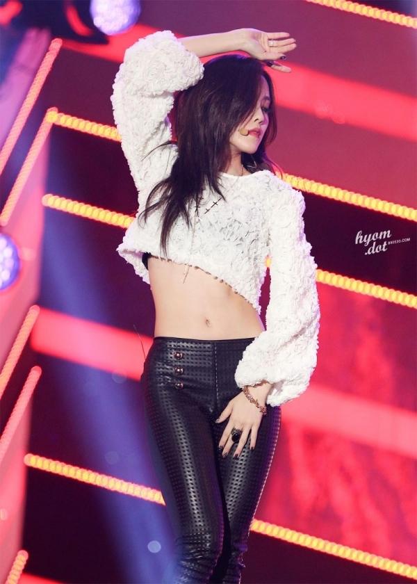 Top sao nữ sở hữu vòng eo nhỏ nhất Kpop - Hyomin