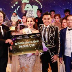 Nhờ tài năng và xinh đẹp, Ca sĩ Bolero Thuỳ Dương đăng quang ngôi vị Hoa hậu