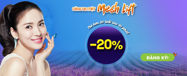 Banner Căng da mặt Mesh Lift – PC