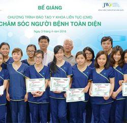Bệnh viện JW chúc mừng ngày Quốc tế điều dưỡng 12-5