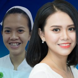 Nữ Y tá bất ngờ thay đổi diện mạo sau hai năm niềng răng