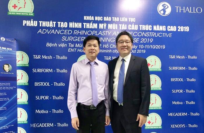 TS.BS Nguyễn Phan Tú Dung giảng dạy chuyên đề mũi cho hơn 500 bác sĩ tại Bệnh viện Tai Mũi Họng TP.HCM- 2