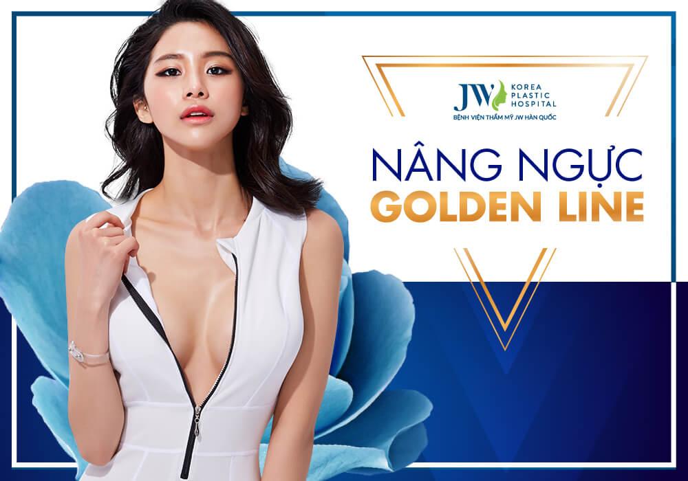 Nâng ngực Golden Line hiện đại 2020