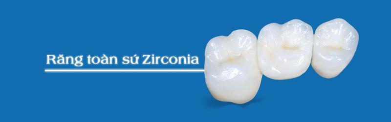 Bọc răng sứ Zirconia vẻ đẹp hàm răng khuyết điểm