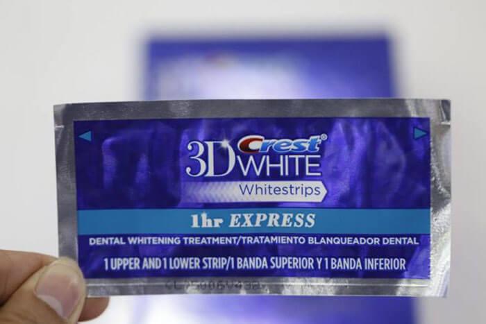 miếng dán trắng răng crest 3d có thực sự hiệu quả