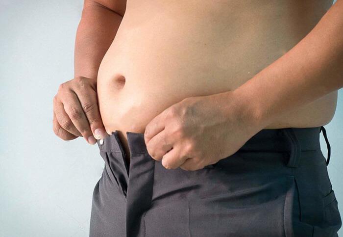giảm mỡ bụng nam