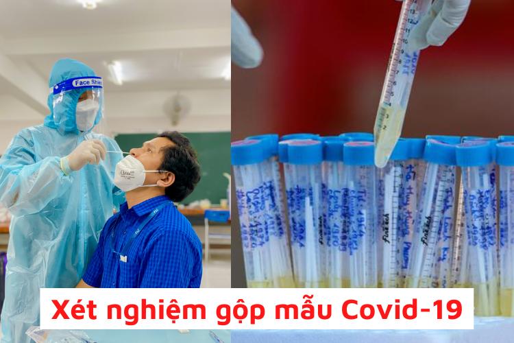 xét nghiệm covid-19 gộp